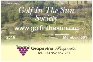 The 2016 Golf in the Sun Discount Card